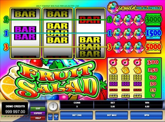 Fruit Salad: Amazing Slot